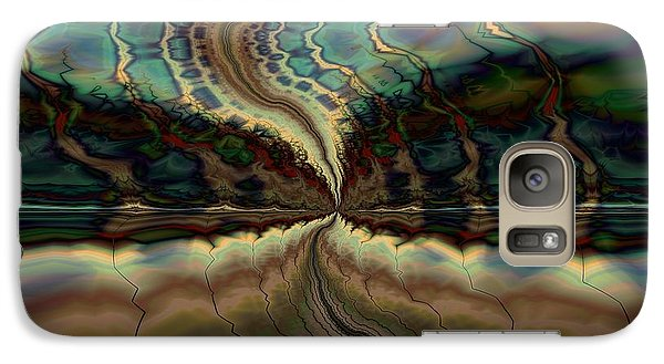 Galaxy Case featuring the digital art On The Way To Somewhere by Kim Redd