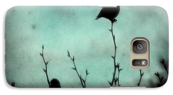 Galaxy Case featuring the photograph On Top Of The World by Robin Dickinson