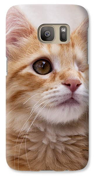 Galaxy Case featuring the photograph One Eye Willie 2 by John Crothers