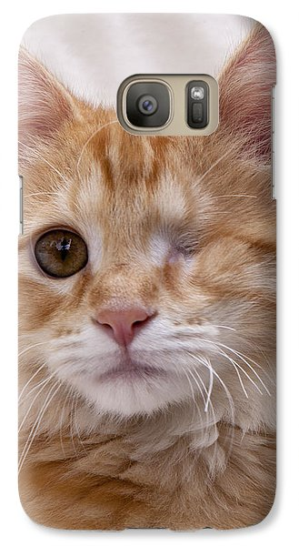Galaxy Case featuring the photograph One Eye Willie by John Crothers