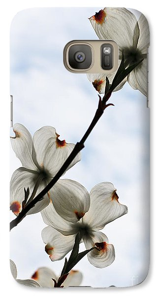 Galaxy Case featuring the photograph Only Once A Year by Barbara McMahon