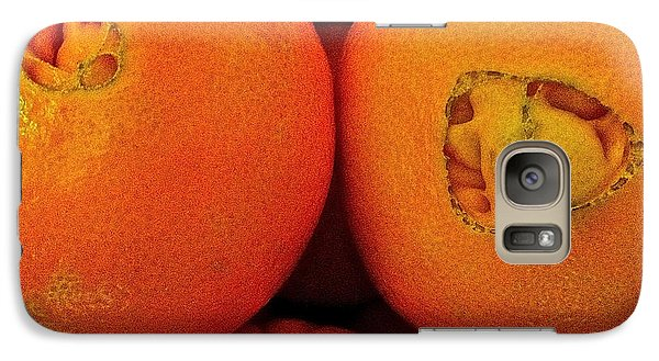 Galaxy Case featuring the photograph Oranges by Bill Owen
