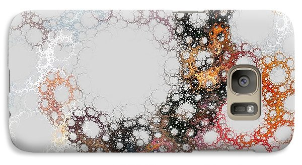 Galaxy Case featuring the digital art Orbital by Kim Sy Ok