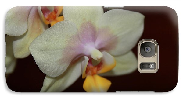 Galaxy Case featuring the photograph Orchid I by Kelly Hazel