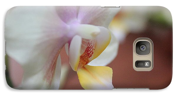 Galaxy Case featuring the photograph Orchid II by Kelly Hazel