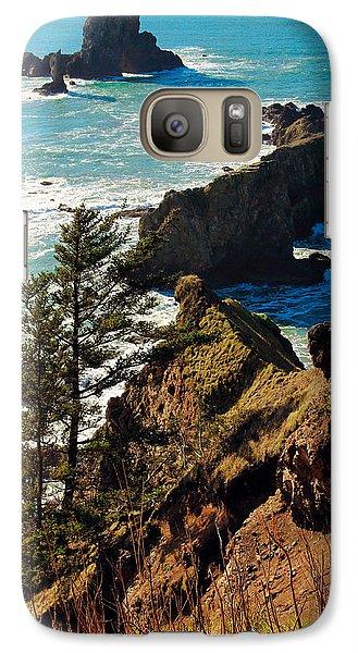 Galaxy Case featuring the photograph Oregon Coast by Athena Mckinzie