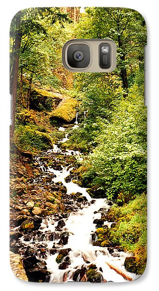 Galaxy Case featuring the photograph Oregon Hobbit House by Maureen E Ritter