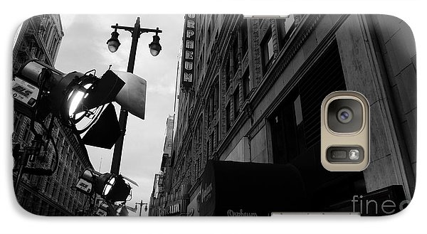 Galaxy Case featuring the photograph Orpheum Theater by Nina Prommer