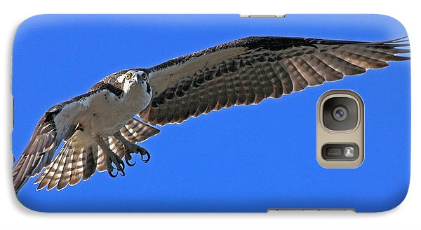 Galaxy Case featuring the photograph Osprey Flight by Larry Nieland