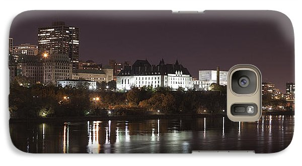 Galaxy Case featuring the photograph Ottawa Skyline by Eunice Gibb
