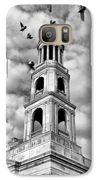 Galaxy Case featuring the photograph Our Lady Of Pompeii Church by Michael Dorn