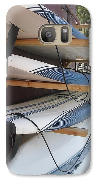 Galaxy Case featuring the photograph Paddle Boards by Carol Duarte