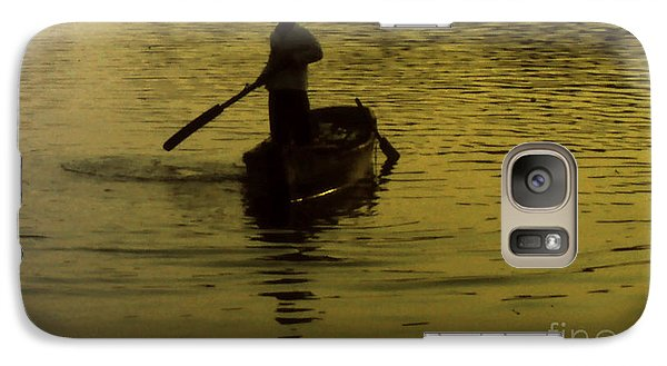 Galaxy Case featuring the photograph Paddle Boy by Lydia Holly