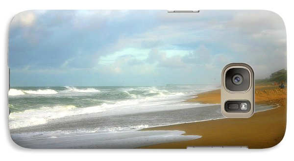 Galaxy Case featuring the photograph Painted Beach by Cindy Haggerty