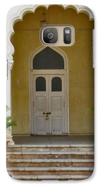 Galaxy Case featuring the photograph Palace Door by David Pantuso