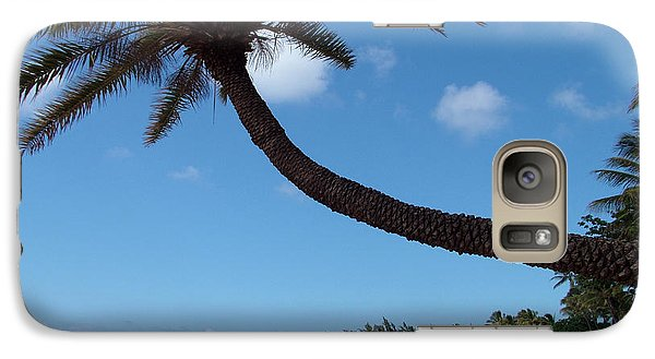 Galaxy Case featuring the photograph Palm Tree by Milena Boeva