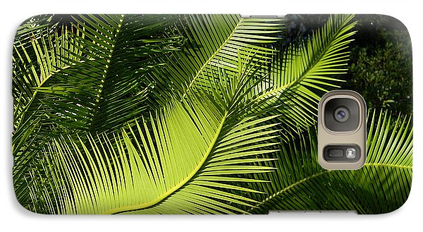 Galaxy Case featuring the photograph Palms Waving At The Sun by Jodi Terracina
