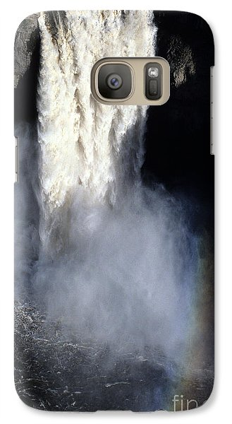 Galaxy Case featuring the photograph Palouse Falls by Sharon Elliott