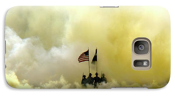 Galaxy Case featuring the photograph Panoramic Us Army Graduation by Michael Waters