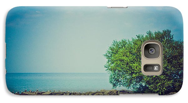 Galaxy Case featuring the photograph Paradise Cove by Sara Frank