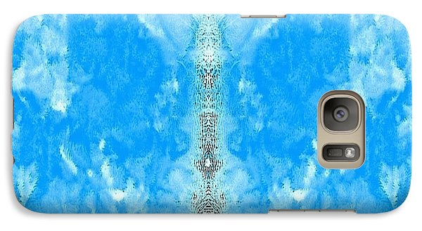 Galaxy Case featuring the mixed media Parallel Universe  by Ray Tapajna