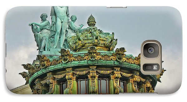 Galaxy Case featuring the photograph Paris Opera House Roof by Dave Mills