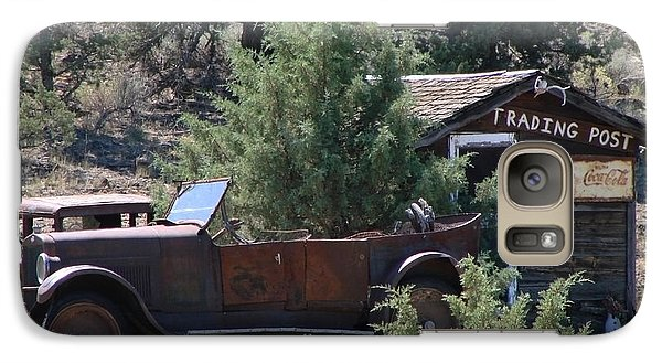 Galaxy Case featuring the photograph Parked At The Trading Post by Athena Mckinzie