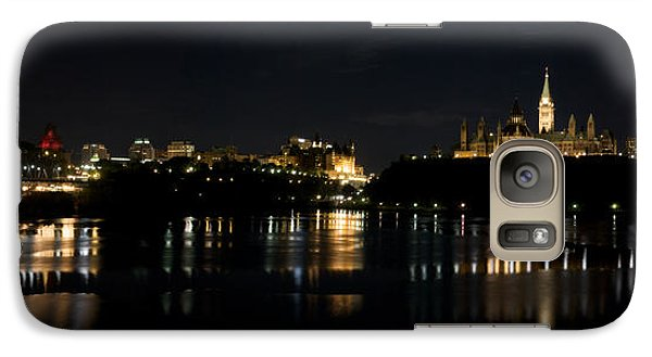 Galaxy Case featuring the photograph Parliament Hill Ottawa Canada by JM Photography