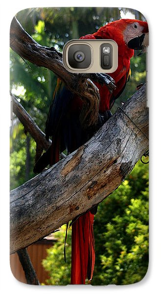 Galaxy Case featuring the photograph Parrot2 by Karen Harrison