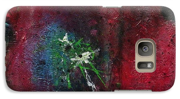 Galaxy Case featuring the painting Passion 1 by Nicole Nadeau