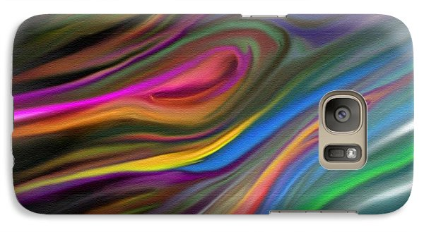 Galaxy Case featuring the painting Passion by Rand Herron