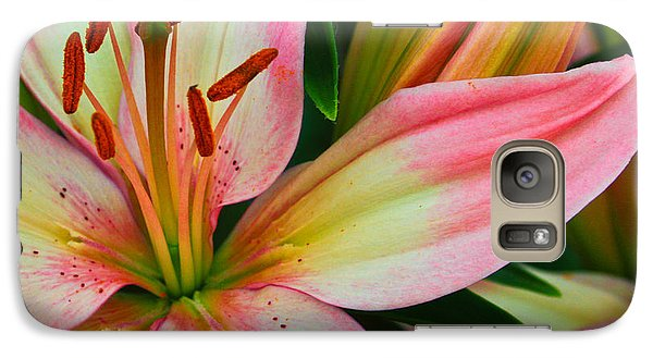Galaxy Case featuring the photograph Pastel Pretty by Lynne Jenkins