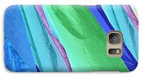 Galaxy Case featuring the photograph Pastel Silks by Deborah Smith
