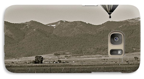 Galaxy Case featuring the photograph Pastoral Surprise by Eric Tressler