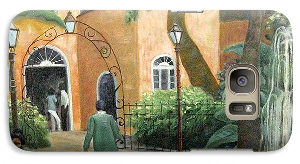 Galaxy Case featuring the painting Pat O Brian's Restaurant by Gretchen Allen