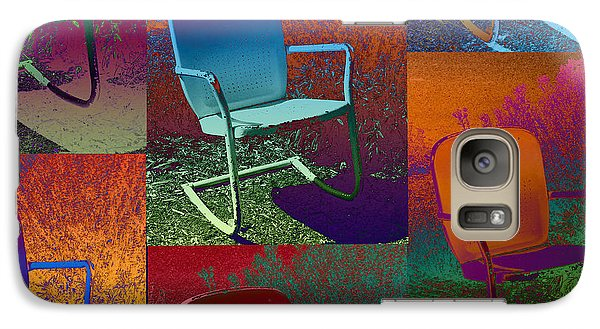 Galaxy Case featuring the photograph Patio Chair by David Pantuso