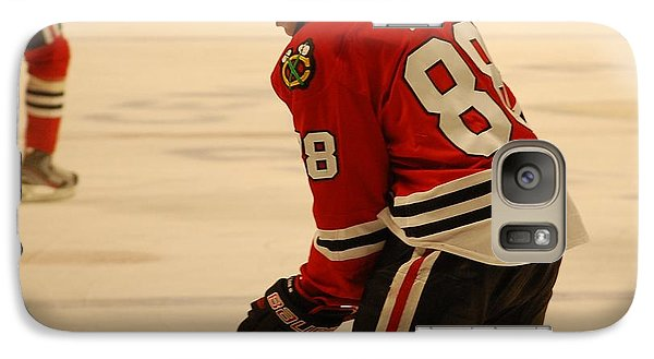 Galaxy Case featuring the photograph Patrick Kane - Chicago Blackhawks by Melissa Goodrich