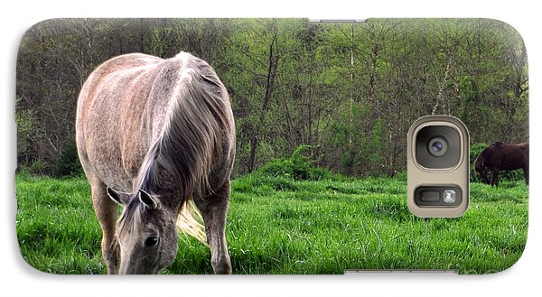 Galaxy Case featuring the photograph Peaceful Pasture by Lydia Holly