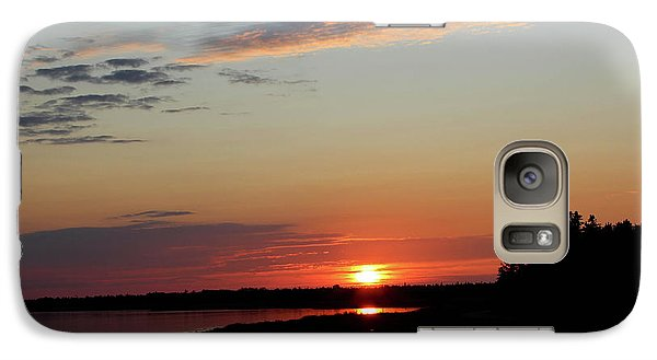 Galaxy Case featuring the photograph Peaceful Sunset by Rachel Cohen