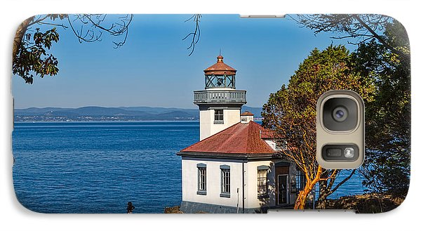 Galaxy Case featuring the photograph Peaceful Thinking by Ken Stanback