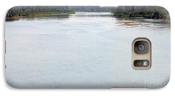 Galaxy Case featuring the photograph Peaceful Waters by Jim Sauchyn