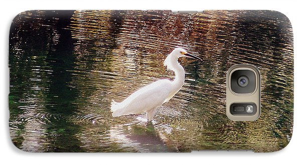 Galaxy Case featuring the photograph Peaceful Waters by Lydia Holly