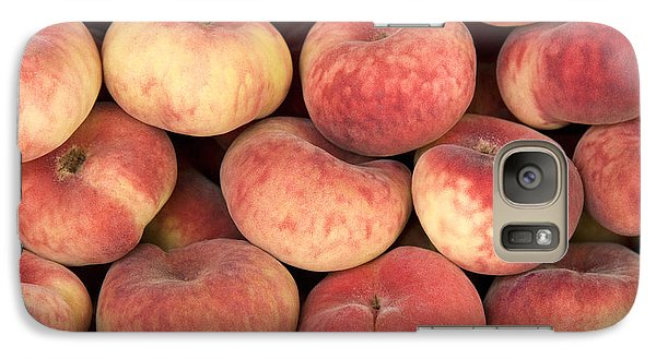Peaches Galaxy S7 Case by Jane Rix