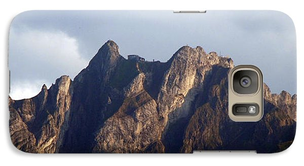 Galaxy Case featuring the photograph Peaks by Pravine Chester