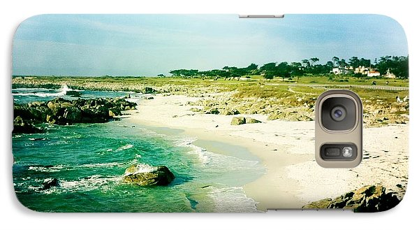 Galaxy Case featuring the photograph Pebble Beach by Nina Prommer