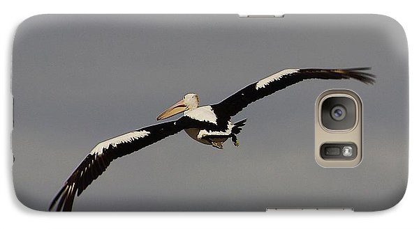 Galaxy Case featuring the photograph Pelican In Flight 2 by Blair Stuart
