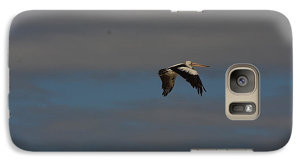 Galaxy Case featuring the photograph Pelican In Flight 4 by Blair Stuart
