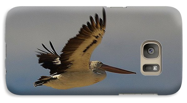 Galaxy Case featuring the photograph Pelican In Flight 5 by Blair Stuart