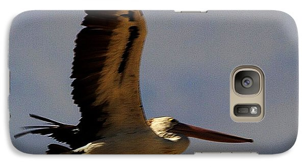 Galaxy Case featuring the photograph Pelican In Flight by Blair Stuart