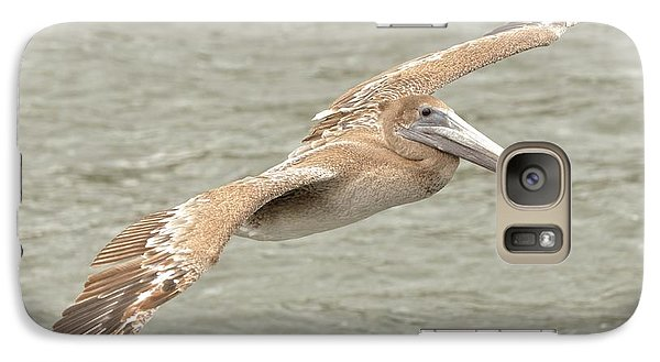 Galaxy Case featuring the photograph Pelican On The Water by Rick Frost